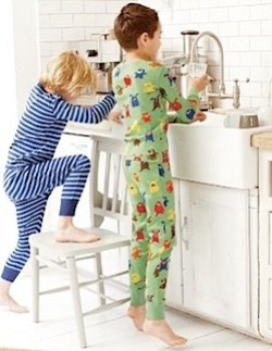boden long john pjs for boys