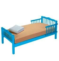 electric blue junior bed