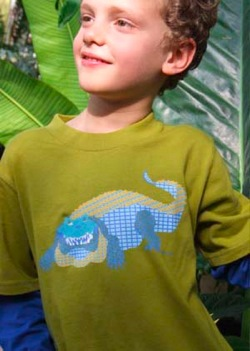 Siamese Crocodile Boy's T-Shirt