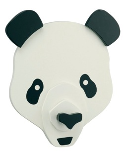 sienna panda coat hook