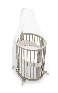 Stokke sleepi crib grey