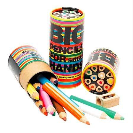 big pencils for small hands