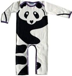 floppy buddha panda sleepsuit