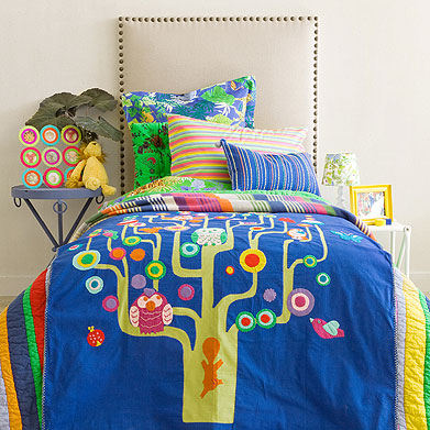 Kids Tree Reversible Bedspread from Zara Home Kids