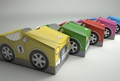 Cardboard Fun with Creata Car