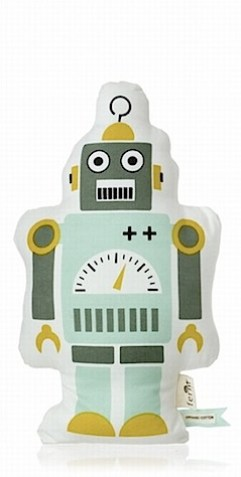 ferm living tobot cushion green