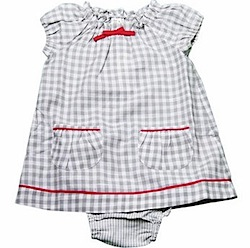 Pale grey check dress - French Connection