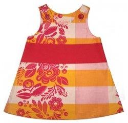 saffron caterpillar dress