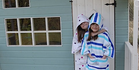 Splasha, Beach Wraps for children
