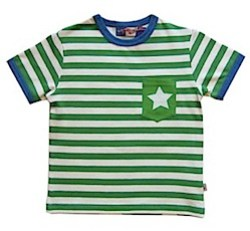 Molo Rasmus Fern Stripe and Star T-shirt