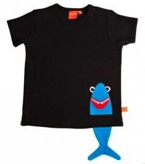 lipfish black shark t-shirt