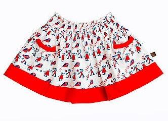 Little Duckling Printed Skirt