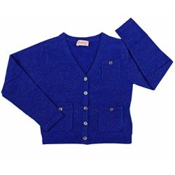 Tea Blue Cardigan by Quincy