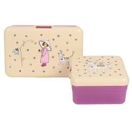 Rice Girls Lunchbox Set | Girls Lunch Boxes - Nettle Green.jpg