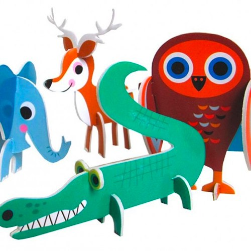 Animal Parade Puzzle by Ingela Arrhenius