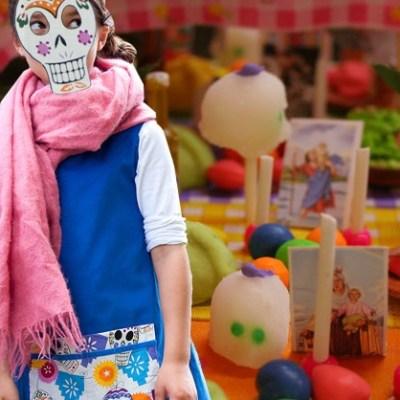 Bread and Jam Halloween Señor Skull Dress