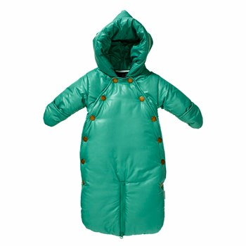 Mini A Ture Xina Frosty Green Snowsuit