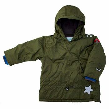 Mini A Ture Grape Leaf Claudi Winter Pullover Jacket