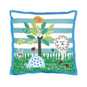 Designers Guild wildlife cushion