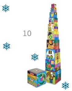Melissa & Doug Alphabet Stacking and Nesting Blocks