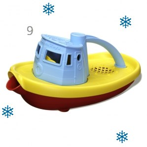 Green Toys Tug Boat Bath Toy