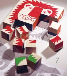 Wooden Animal Puzzle Blocks
