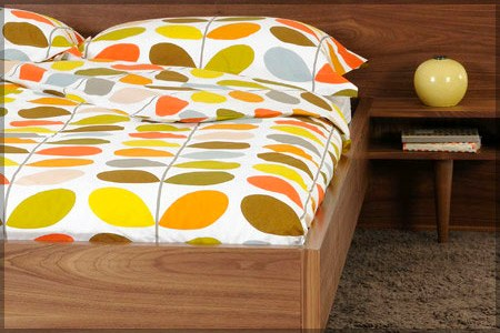 Orla Kiely Multi Stem Print bedding