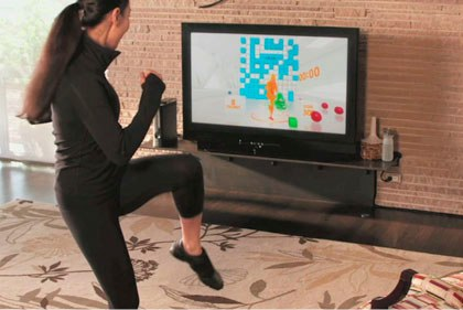 X box kinect fitness game
