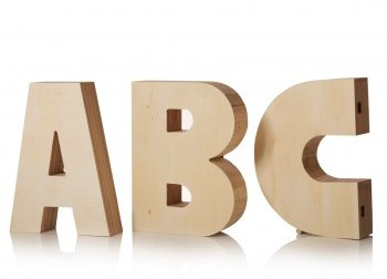 ABC Storage Letters Oliver Bonas
