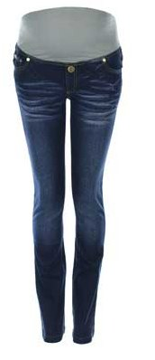Just Maternity Jeans - 2Wear Blue Straight Leg maternity jeans