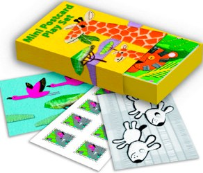 Jungle Animals Postcard Set