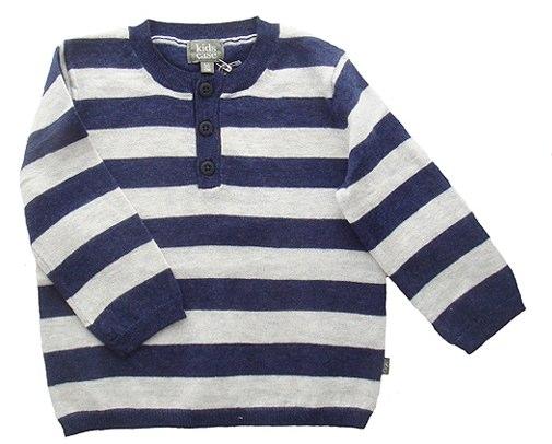 Kidscase - Twiggy button sweater (grey/blue)