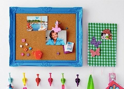 Acrylic memo board - Blue - by Rice DK