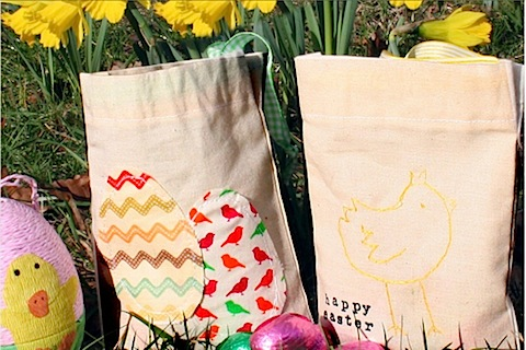 Handmade Easter Gift Bags Scamp Gifts