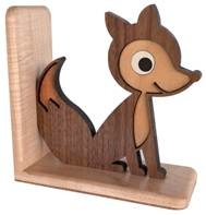 fox bookend by graphic spaces