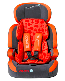 Zoomi 123 carseat in orange by cosatto
