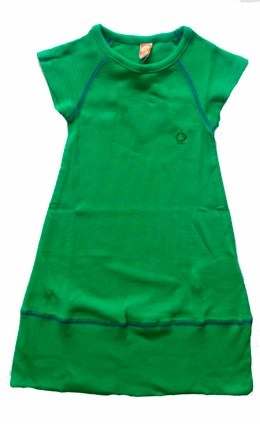 Katvig Green Ribwear Dress