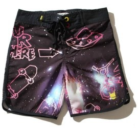 Galaxy shorts by Munster Kids