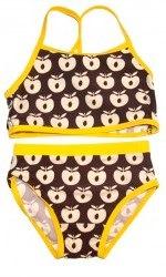 brown and yellow apples smafolk bikini