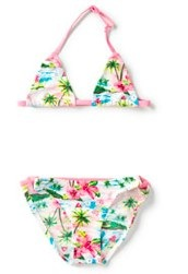 Hawaii print bikini