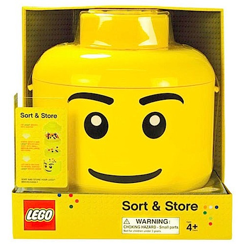 Lego Sort & Store Head