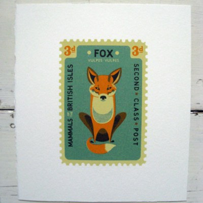 Tom Frost stamp silkscreen prints