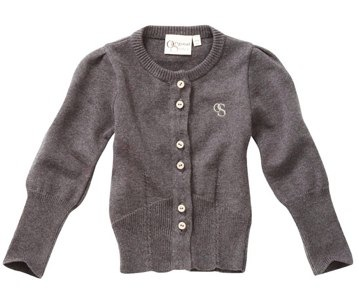 Domino - Tailored Ribbed Cardigan by Original Sister