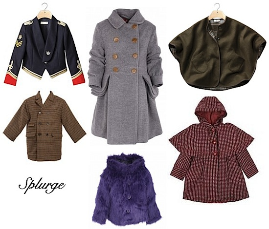 coats by stella mccartney kids, caramel baby and child, no added sugar, troizenfants, and marc jacobs