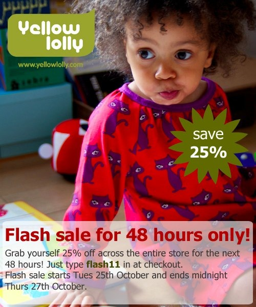 Yellow Lolly Flash Sale