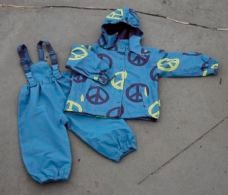 Mala blue rain set with bag (Carl)