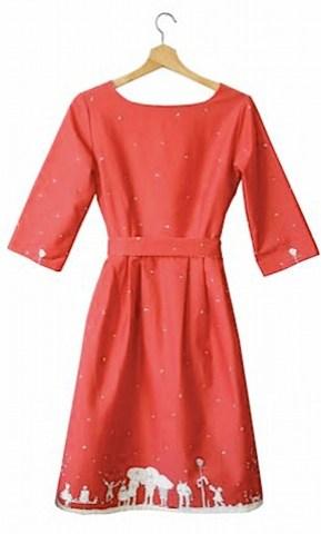 Beatrice women's dress Aunt Eva by Poppy