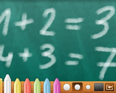 Bord blackboard iPad/iPhone app