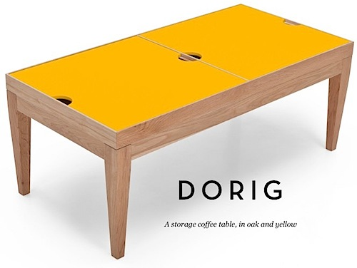Dorig storage coffee table