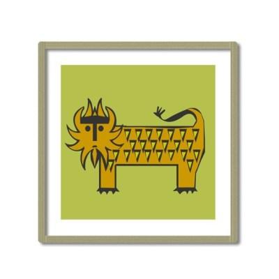 Zoe Est lion print